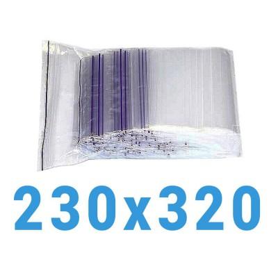 Пакеты с замком zip-lock 230*320 мм