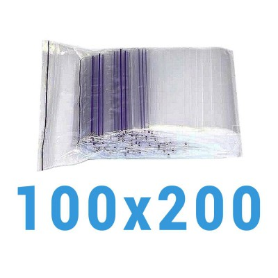 Пакеты с замком zip-lock 100*200 мм