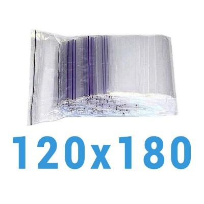 Пакеты с замком zip-lock 120*180 мм