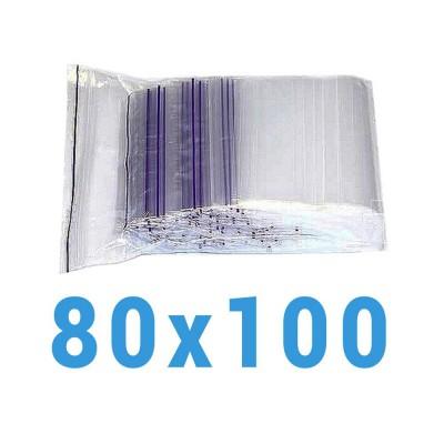Пакеты с замком zip-lock 80*100 мм