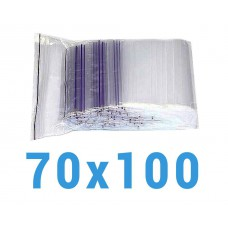Пакеты с замком zip-lock 70*100 мм