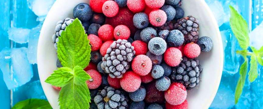 свежие замороженные фрукты
